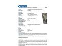 CHEMTEX - Model OILM6013 - Army Matting - Datasheet