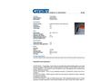 Chemtex - Model BOOM1008 - Containment Boom Tow Bridal - Datasheet