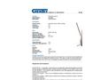 Chemtex - Model OILM090 - Danforth Anchor, 22 lbs. - Datasheet