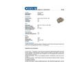 Chemtex - Model OILM087 - Anchor Chain - Datasheet