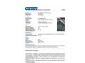CHEMTEX - Model DP12GPB - Universal Poly-Backed Pads - Datasheet