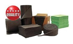 CHEMTEX - Fine Fiber Meltblown Universal Absorbent Pads & Rolls