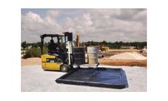 Chemtex - Model BERM1100 - Foam Wall Containment Berm made w/ XR5
