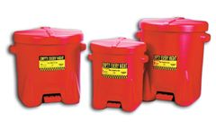 Chemtex - Model 933-FL - 6 Gallon Oily Waste Cans