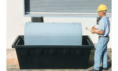 Chemtex - Model CON0815 - 1000 Gal Sump, 1100 Gal, With Drain (Drop Ship Only)