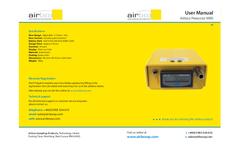 Airbox - Model Personal MKII - Low Flow Air Sampling Pump - Manual