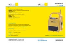 Airbox - Model Dataflow - High Flow Air Sampling Pump With Data Capture - Manual