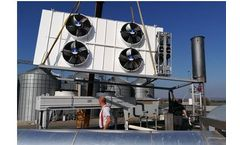 eCoolers for Cooling of the circuit of cogeneration unit engine with zero consumption