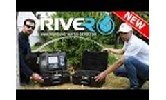 River G water detector the totally new device works by three exploration systems of groundwater - Video