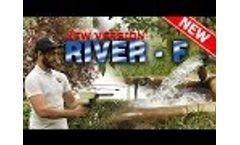 Underground long range water finder - RIVER - F Device - New Version Video