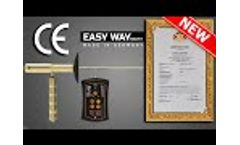 Easy way smart dual system to detect gold, precious metals, burials, caves and voids underground