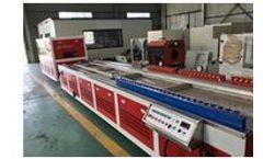 Fullwin - PVC Profile, PVC / PP Wood Plastic Extrusion Line Machine