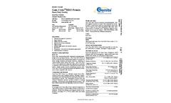 Gem-Crete - Waterproof Heavy-Duty Vehicular Traffic Topping Coating Brochure