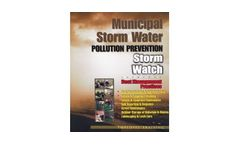 `Storm Watch` - Municipal Stormwater Pollution Prevention