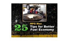 `MPG Max` - 25 Tips for Better Fuel Economy