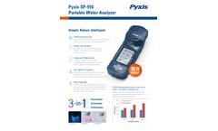 Pyxis - Model SP-910 - Fluorometer/Colorimeter/Turbidimeter Brochure