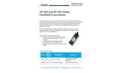 Pyxis - Model SP-350 - PTSA Tracing Handheld Fluorometers Brochure
