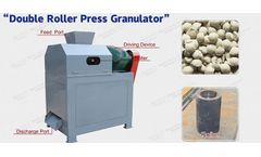 Can double roller granulator meet the production requirements of most fertilizer plants?