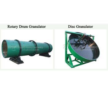 Benefits of slow release granular fertilizer production process