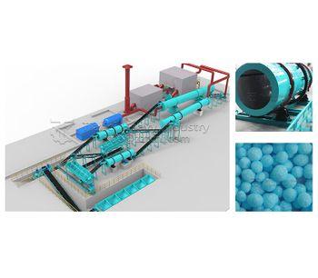 Advantages of drum steam granulation compound fertilizer production line