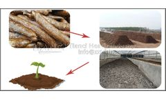 Recovery method of cassava residue-fermentation to produce organic fertilizer