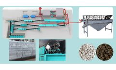 Working principle and application of particle fertilizer screening machine