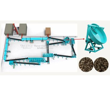 Detailed introduction of three fertilizer production lines: disc, drum and double roller