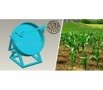 Disc granulator has many advantages in processing organic fertilizer particles