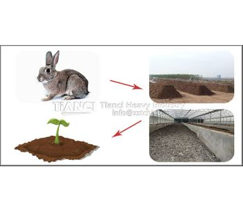 What are the advantages of using rabbit manure as organic fertilizer?