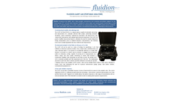 Alert Lab - Portable Microbiology Analyzer Brochure