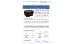 Fluidion - In-Line Chemical Analyzer Brochure