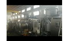 Vacuum Evaporator for high concentration industrial wastewater - Video
