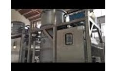 Vacuum Evaporator for high concentration electroplating wastewater treatment - Video