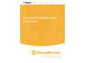 PleaseReview - Real-time Document Collaboration Software Brochure