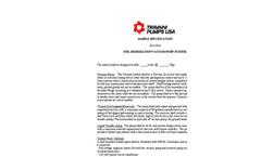 DynaSeal™ TRO Series Sample Spec Soil Remediation System