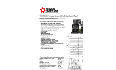 TRO 500S-1A Dynaseal System With Soft-Start Control Panel Brochure (PDF 92 KB)