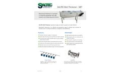 Saltec - Model SBT - Belt Thickener Brochure