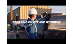 Powering on G7x and G7 Bridge Video