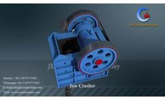 How Does the Jaw Crusher Work? Primary Rock Crusher - JXSC Machine Video