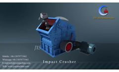 Rock Impact Crusher Working Animation Video (Simple and Clear) Video
