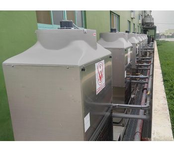 Injection molding machine with Cooling water system - Plastics & Resins-4