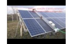 Solar Panel Cleaning Solutions Video