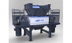 GEP Ecotech - Model GD8 - Industrial Hazardous Waste Shredder
