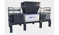 GEP-Ecotech - Model GR Series - Double-Shaft Fine Shredder