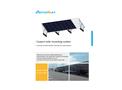 Antaisolar - Waterproof Carport Solar Mounting System (Frameless ) Brochure