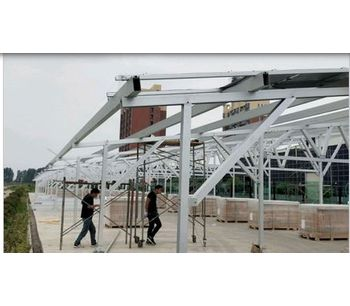 Antaisolar - Waterproof Carport Solar Mounting System (Frameless )