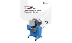 shredTion - Non-Infectious Medical Waste Shredding Machine Brochure