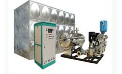 Changsha - Tank Type Non-negative Pressure Water Supply Equipment with Control Cabinet