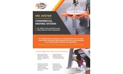 Mr. Mister - Silica Exposure Control System Brochure