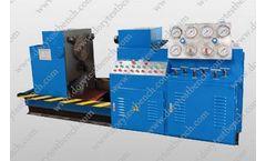 Dory - Model YFJ-B400 - 6``-16``Horizontal  Valve Testing Bench